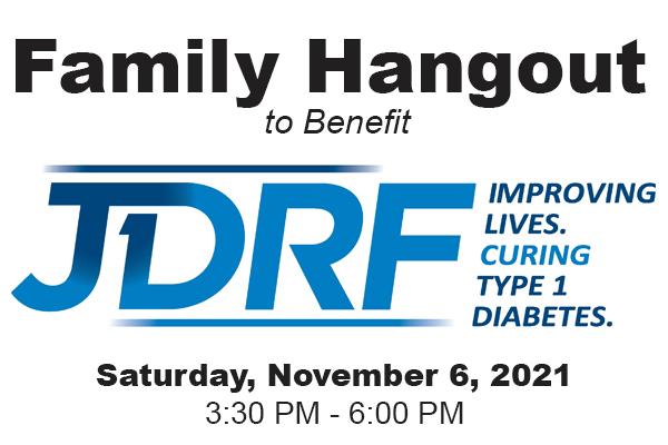 JDRF Family Event Flyer