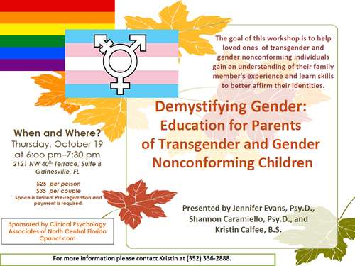 transgender workshop cpancf flyer