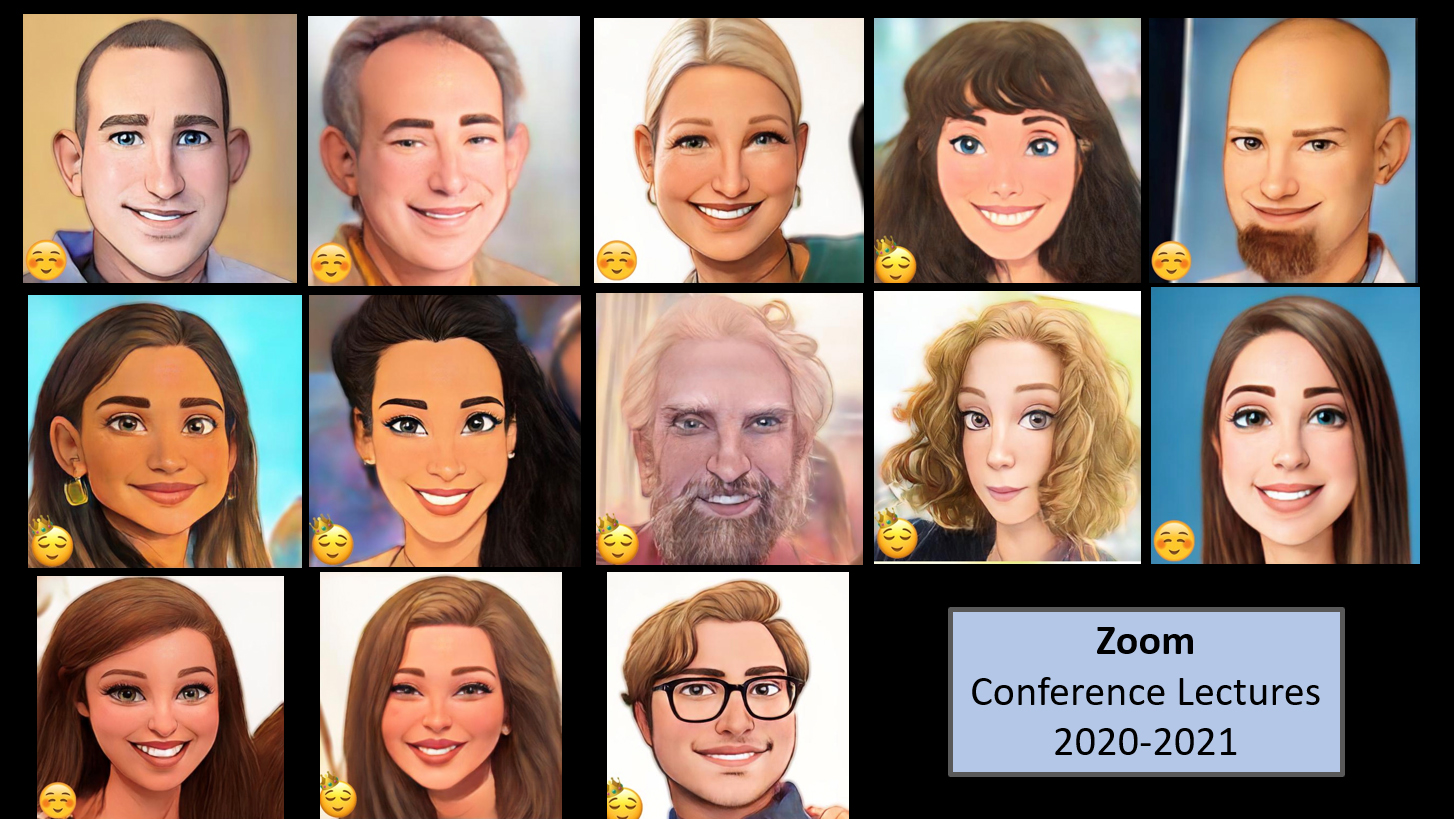 Screenshot of Endo Staff on a Zoom Call